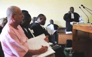 Peter-Erlinder-prosecutor-Jean-Bosco-Mutangana-in-Kigali-courtroom-061410