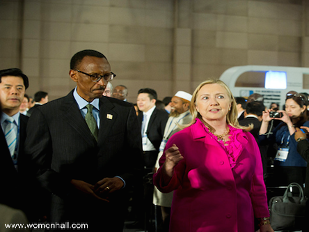 kagame-hillary