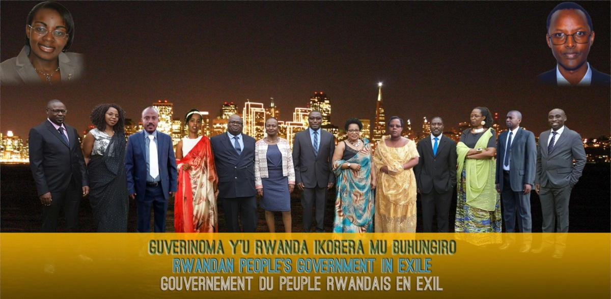 Press release : « WE DECLARE THE GOVERNEMENT OF RWANDA IN EXILE »