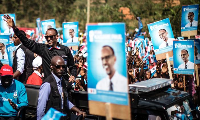 Kagame rally Gakenke
