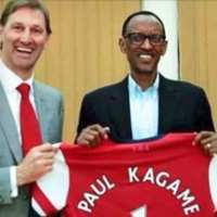 Shirt of shame: Britain dishes out £62million in foreign aid to Rwandan dictator who splurges £30million on sponsorship for his beloved Arsenal FC