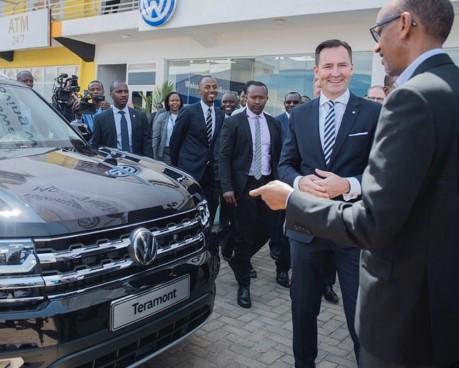 VW - Kagame deal