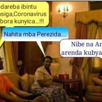 Korona Virusi mu rugo kwa Kagame?